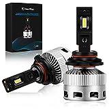 Ampoule Voiture, HB4/9006 Ampoule LED Avant de Voiture, HeartRay 60W 12000LM 6000K Phares de Voiture de Remplacement avec Lumière Blanc Chaud, IP68 Etanche...
