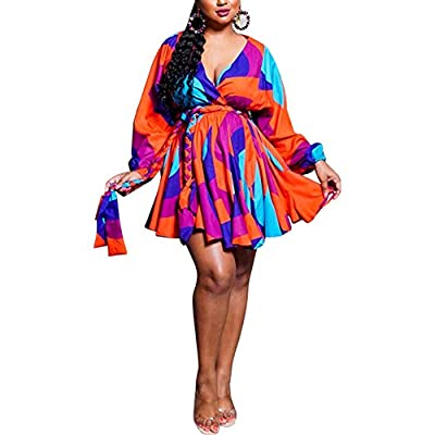 Unique African bohemian dress: exquisite workmanship, multi-color and multi-size options, bright print design, charming in the crowd. Sexy and sweet style,95%polyester+5%spandex,soft material, light and comfortable to wear. Features:Sexy Dresses for ...