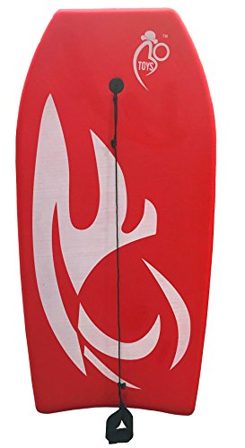Bo-Toys Body Board Lightweight with EPS Core (RED, 33-INCH)