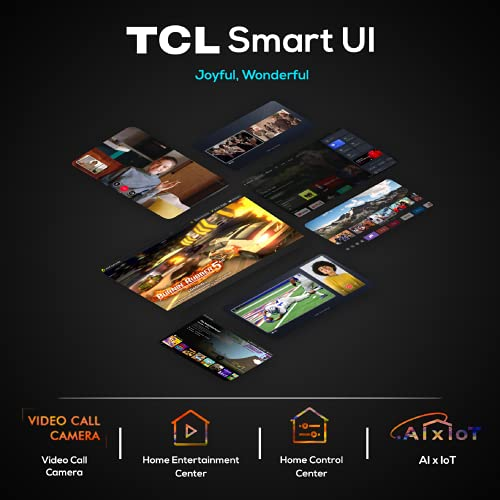 415uKenm TS TCL 163.9 (65 inches) 4K Extremely HD Licensed Android Good QLED TV 65C725 (Black) (2021 Mannequin) | With Video Name Digicam