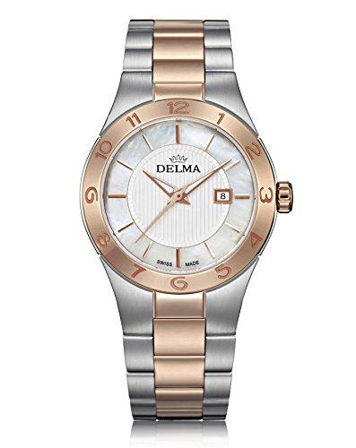 Delma Damenuhr Analog Quarz Metallarmband - 407152