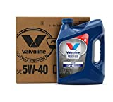 Valvoline Premium Blue Extreme SAE 5W-40 Full Synthetic Engine Oil 1 GA, Case of 3