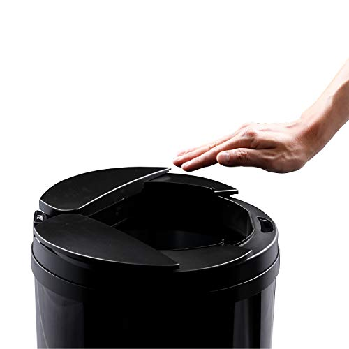 【ひらけ、ゴミ箱】ZitA ジータ ゴミ箱 おしゃれ 45リットル ダストボックス 自動 自動ゴミ箱 センサー (ブ...