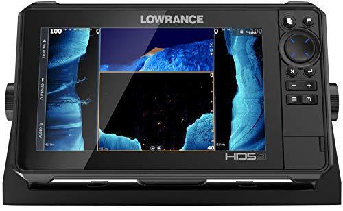 HDS-9 Live - 9' Fish Finder con Active Imaging 3 in 1 trasduttore con Active Imaging Sonar, FishReveal Fish Targeting e integrazione con Smartphone. C-MAP Precaricato US Mappatura migliorata
