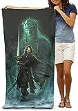 Le Seigneur des Anneaux - Serviette de plage pour enfant - Gandalf Frodo - Serviette...