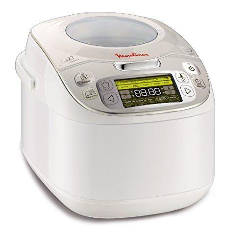 Moulinex MK812121 Maxichef Advance Robot de cocina con 45 programas de cocción, 5 L, 750...
