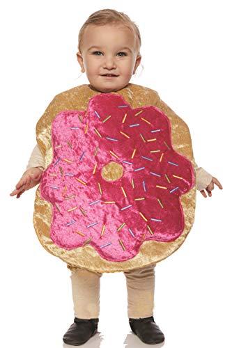 UNDERWRAPS unisex child Toddler's Plush Donut Belly Babies Costume, Multi, Medium US