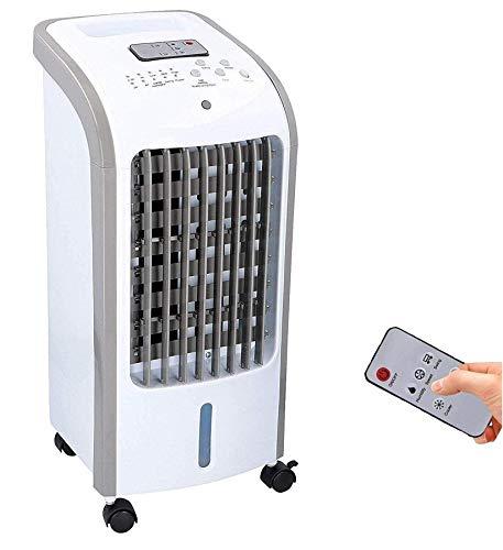 JUNG TVE25 mobiles Klimagerät mit Wasserkühlung, TÜV geprüft, inkl. Fernbedienung + Timer, Mobile Klimaanlage leise, Kühlender Ventilator