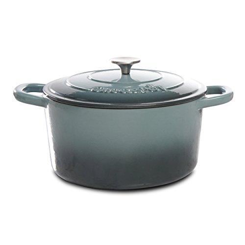 Crock Pot 7QT Dutch Oven, Gray
