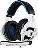 Xbox One Gaming Headset Stereo Over Ear Gaming Headset with Mic Noise Cancelling Volume Control for Xbox One/PC/Mac/PS4/Nintendo(White) ¡­