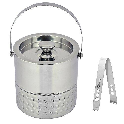 Kosma Double Wall Stainless Steel Ice bucket and Ice...
