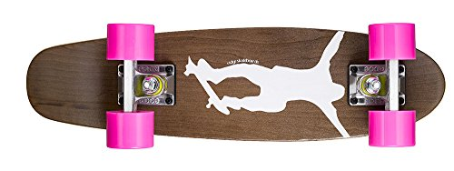 Ridge Skateboards Maple Mini Dark Dye - Longboard, Color Ros