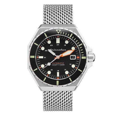 Herren-Armbanduhr – Automatik – Spinnaker – Dumas – 44 mm – Gehäuse – Armband Stahl versilbert – SP-5081-11