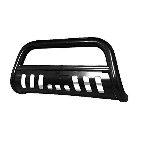 R&L Racing Black HD Bull Bar Brush Push Bumper Grill Guard 1997-2003 Compatible with Ford F150/F250 LD/Expedition