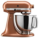 KitchenAid KSM150PSCE Artisan Stand Mixers, 5 quart, Copper Pearl (Renewed)
