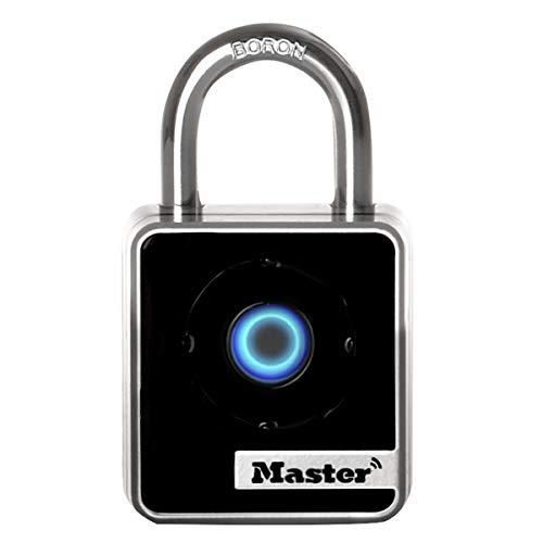 MASTER LOCK Candado Bluetooth [Compatible con Smartphone] [Interiores] 4400EURD - Ideal para Armario, Puerta
