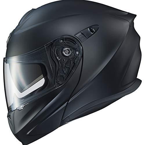 ScorpionExo EXO-GT920 Full Face Modular Helmet (Matte Black, Large)