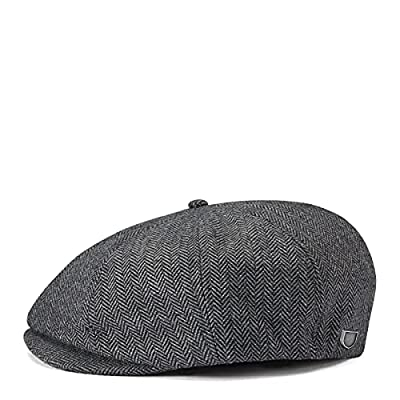 Newsboy cap Front-snap short bill