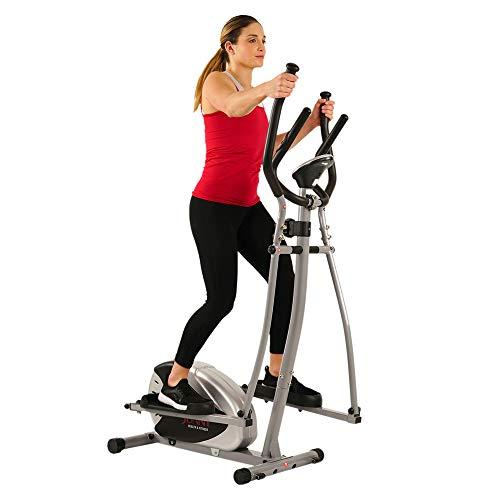Sunny Health & Fitness SF-E905 Elliptical Machine Cross...