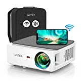 YABER V6 WiFi Bluetooth Projector 7500 Lux Full HD Native 1920×1080P Projector, 4P/4D Keystone...