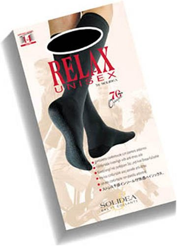 Solidea Relax 70 Gambaletto Unisex, Nero, Taglia 3 - 10 ml