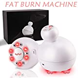 Fat Burn Machine, 4 in 1 R/F Sonic E/M/S Weight Loss Vibration Machine for Stomach Arm Leg Body Shaping Massager Skin Lifting with Red Light Beauty Device