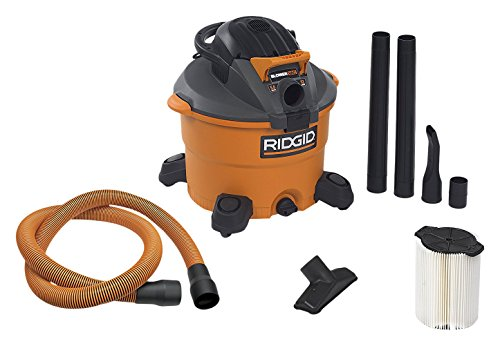 RIDGID Wet Dry Vacuums VAC1200 Heavy Duty Wet Dry Vacuum Cleaner and Blower...