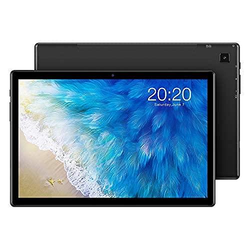 TECLAST Tablet 10.1 Pollici M40 6GB RAM + 128GB ROM (TF 512GB), 4G LTE + 5G WiFi, Android 10 T618 Pie Octa-Core 2.0 GHz, FHD 1920x1200, Dual SIM/SD, Bluetooth 5.0/Fotocamera 5+8MP/Type-C/GPS/6000mAh