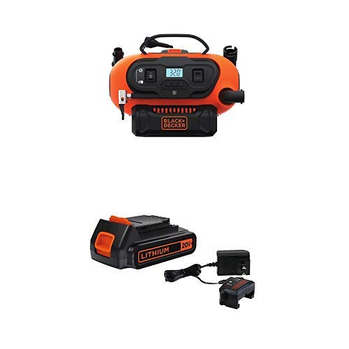 Black & Decker Cordless Air Station Inflator