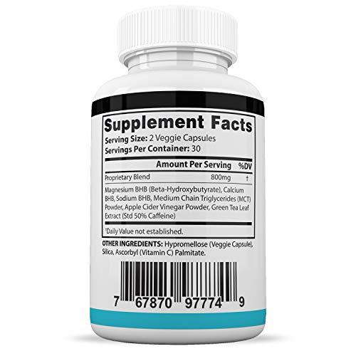 Pure Keto Xp Pills Advanced BHB Ketogenic Supplement Exogenous Ketones Ketosis for Men Women 60 Capsules 3 Bottles 2
