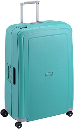 Samsonite S'Cure - Spinner S Handgepäck, 55 cm, 34 L, Blau (Aqua Blue)