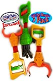 Mɑtty's Toy Stop Deluxe 12' Galaxy Grabber, Robot Hand & Robot Claw Gift Set Bundle - 3 Pack