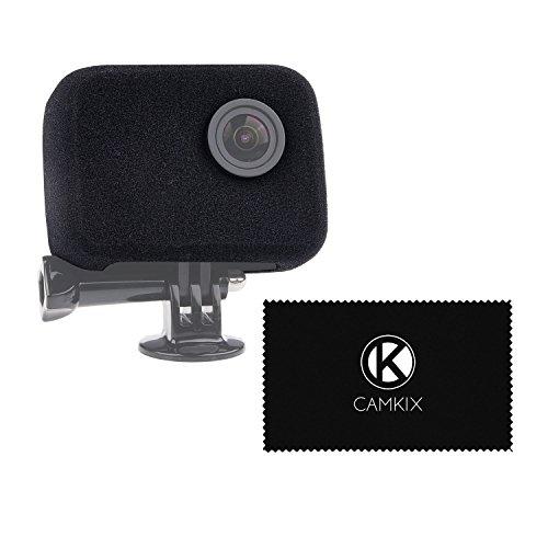 Parabrezza per la tua Telecamera GoPro Camera - Riduce il Rumore del Vento per una Registrazione Audio Ottimale - Per GoPro HERO4, HERO3+ e HERO3 - Proteggi Lente Filtro UV, Coperchio Lente e Panno di Pulizia