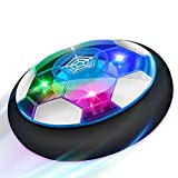 Baztoy Air Power Football, Jouet Enfant Ballon de Foot Rechargeable avec LED...