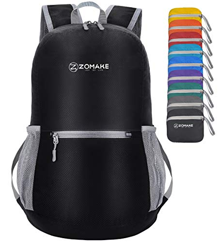 Ultra Lightweight, Packable, Water-Resistant Daypack
