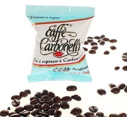 Caffè Carbonelli Decaffeinato - Confezione da 100 Capsule – Compatibile Lavazza Espresso Point