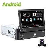 Android Autoradio 1 Din GPS CAMECHO 7 Pouces Flip Out Écran Tactile...
