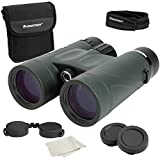 Celestron – Nature DX 8x42 Binoculars – Outdoor and Birding Binocular – Fully Multi-coated with BaK-4 Prisms – Rubber Armored – Fog & Waterproof Binoculars – Top Pick Optics