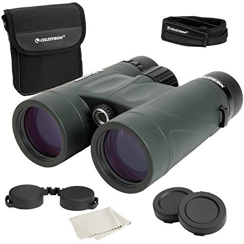 Celestron – Nature DX 8x42 Binoculars – Outdoor and Birding Binocular – Fully Multi-coated with BaK-4 Prisms – Rubber Armored – Fog & Waterproof Binoculars – Top Pick Optics