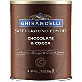 Ghirardelli Sweet Ground Chocolate and Cocoa | 3 lb. | Baking & Desserts