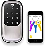 Yale Security YRD446NR619 Yale Real Living Assure Lock with Bluetooth in Satin Nickel
