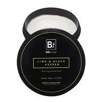 Bib & Tucker Luxury Lime & Black Pepper Shaving Cream 5.3 fl oz