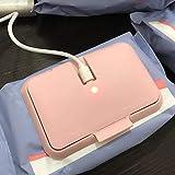 Letway Chauffe-lingettes portable alimenté par USB pour intérieur ou...