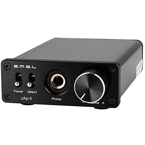 SMSL Audio Sap-II PRO Black Headphone Amplifier, Black