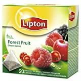 Lipton FORREST FRUIT- 3 x 20 tea bags-Imported from EUROPE-Now shipping from USA