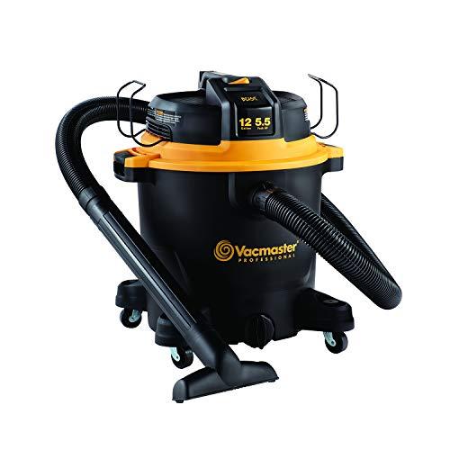 Vacmaster Professional - Professional Wet/Dry Vac, 12 Gallon, Beast Series, 5.5 HP 2-1/2' Hose (VJH1211PF0201)
