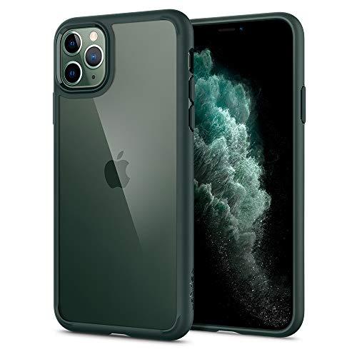 Spigen Funda Ultra Hybrid Compatible con iPhone 11 Pro - Verde...