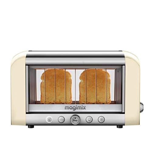 Magimix 11539 Vision Toaster, Kunststoff, weiß