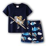 EA-SDN Capitán América - Conjunto de pantalón corto y camiseta de verano para niño, diseño de...