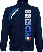 Generico Giacchino Brescia Tifosi Ultras Calcio Sport dalla S alla XXL e 4 Colori Disponibili(L, Blu Navy)